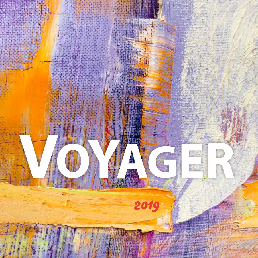 voyager, catalogue, 2019